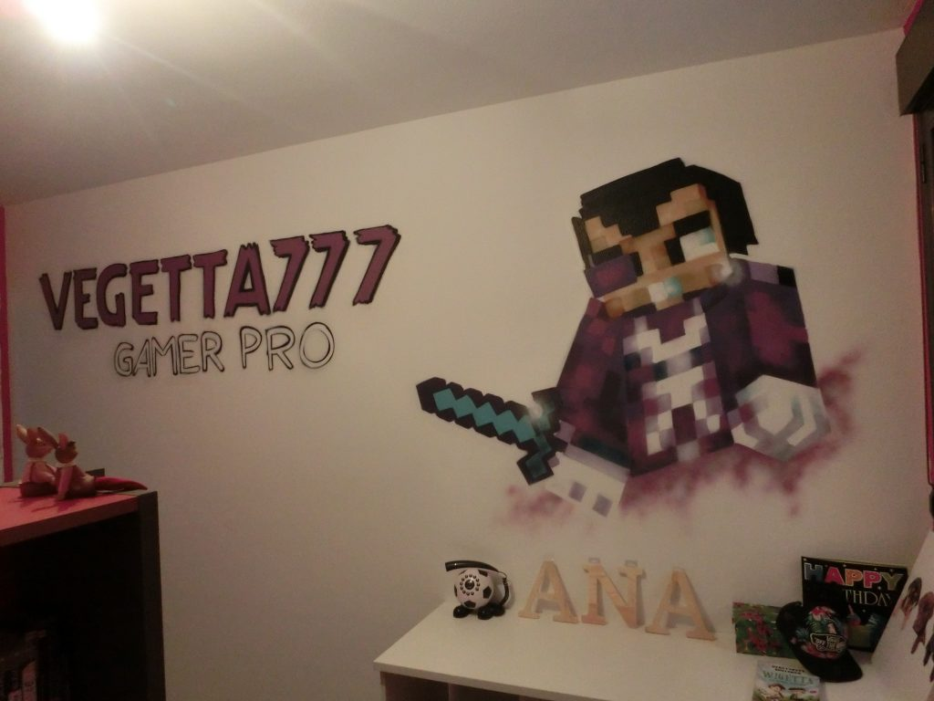 Graffiti dormitorio