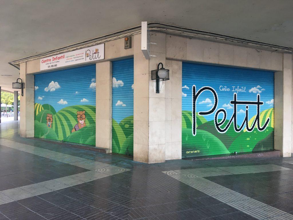 Graffiti guardería