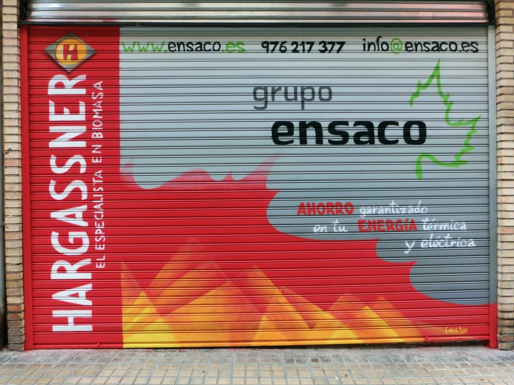 Graffiti persiana entintarte