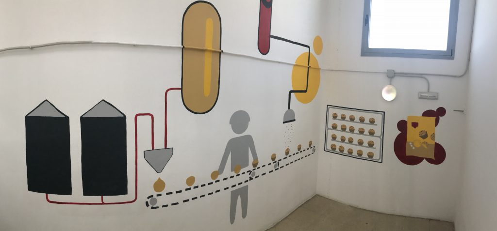 Mural empresa