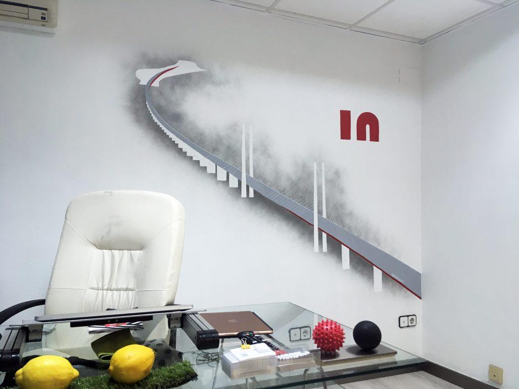 Mural oficina