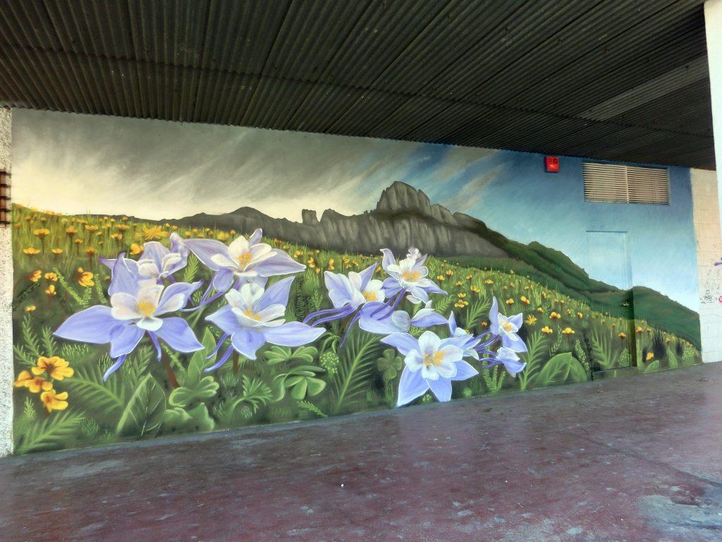 Graffiti comunidad de vecinos